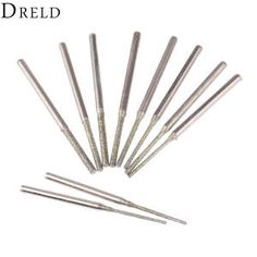 Estone 10 pcs Jeweler Diamond Wood Carving Craft Metal Glass Stone Needle Files Sets