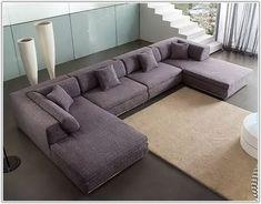 U Shaped Sectional Sofa, U Shaped Sofa, Sectional Sofa With Chaise, Fabric Sectional, Sofa Beds, Modern Sectional, Living Room Sofa Design, Cozy Living Rooms, Living Room Furniture