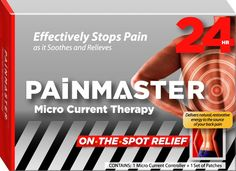 Painmaster! Available worldwide. Painmaster - Effective pain relief.