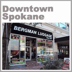 Downtown Spokane Bergman Luggage The Downtown Spokane store is located at:  707 West Main Street Spokane WA  Phone (509)747-4200