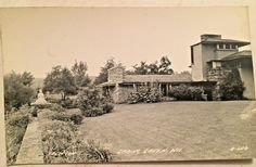 1950 Frank Lloyd Wright Taliesin Spring Green Wi Rppc Ebay