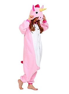 YARBAR Adultes Kigurumi Animaux Pyjamas Costume Anime Cosplay Halloween Licorne Onesie