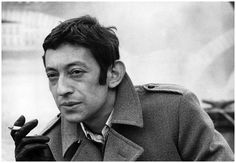 Gainsbourg.  photo by Jean d'Hugues