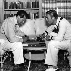 Homo History: Cary Grant and Randolph Scott: A Gay Hollywood Romance. Cary Grant Randolph Scott, Gary Grant, Hollywood Actor, Classic Hollywood, Old Hollywood, Hollywood Glamour, Bisexual Celebrities, Nostalgia, Astro