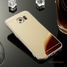 Airror Back case For Samsung Galaxy s6 Cell Phone Case TPU Silicone Transparent Sides Phone Case For Sumsung concha