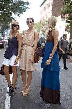 Street Fashion with charming robe #womensfashion #girl #fashion