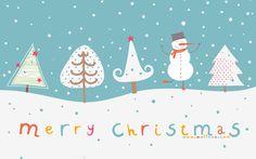 cute_christmas_illustration_of_christmas_tree_and_snowman.jpg (1680×1050)