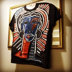 The Last Hand-Painted Tshirt . until it warms up outside. For my Sister from another Mister, 😉❤👊🏾👍🏾Thank you… My Sister, The Outsiders, Sisters, Hand Painted, Warm, Studio, Artwork, Mens Tops, Painting