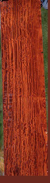 African Rosewood, or Bubinga