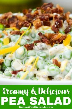 These little green gems lend beautiful color and texture to my creamy Pea Salad a simple but flavorful side dish sure to please the whole family! Side Dish Recipes, Side Dishes, Fresco, Pea Salad Recipes, Creamy Peas, Southern Recipes, Soup And Salad, Summer Recipes, Cooking Recipes