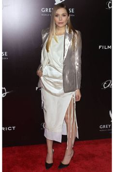 Elizabeth Olsen Wears Altuzarra at 'Oldboy,' Plus More!