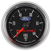 Ford Racing Fuel Pressure Gauge - 2 1/16""