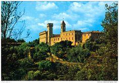 Livorno - AK Italien Castagneto Carducci Bolgheri Castello Livorno Toskana Schloß Italia Toscana cartolina picture postcard