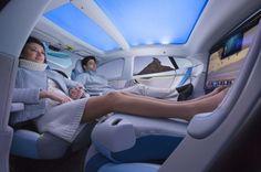 まるでマイホーム?リラックスできる車。未来の車デザインまとめ