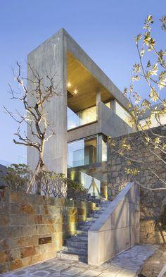 Modern Jeju Bayhill Pool & Villa by L'EAU design + Kim Dong-jin #southkorea