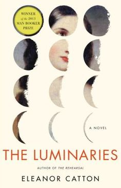 The Luminaries.  Click on the book cover to request this title at the Bill or Gales Ferry Libraries. 1/14