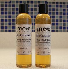 Made in Queens NY - Organic Body Wash with Honey and Honeysuckle #queens #nyc #honey #beauty