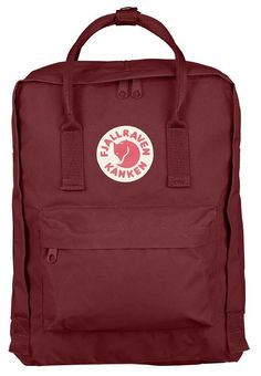 Classic Kånken backpack with zipper that opens the entire main compartment. Very hardwearing vinylon fabric. Removable seat cover at the back. Simple shoulder straps and handle on top. Reflector in the logo.