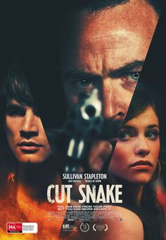 From award winning director Tony Ayres comes the Australian crime film #CutSnake, starring 300: Rise of an Empire's Sullivan Stapleton, Alex Russell and Jessica De Gouw. Check out the new poster for CUT SNAKE, coming to Australian cinemas September 24.