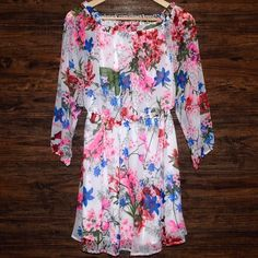 Southern Girl Fashion Dresses - ❗️SALE❗️PRINTED DRESS Off The Shoulder Swing Mini