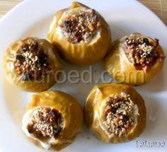 #РЕЦЕПТЫ   Печеные #яблоки с курагой, орехами и медом