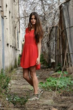 Short Sleeve Dresses, Dresses With Sleeves, Collection, Fashion, Dress, Moda, La Mode, Gowns With Sleeves, Fasion