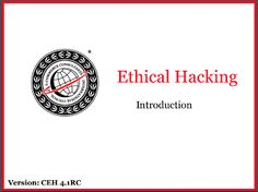 Ebook Certified Ethical Hacking - Version 4.1 RC PDF ~ DHOCNET Downloads - eBooks PDF, OpenWRT, BIOS Dump, Scripts, Games