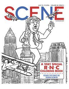 Cleveland's Scene magazine, RNC issue, 2016