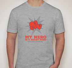 Buy a t-shirt to support Heart Heroes 2015 CHD Awareness Campaign. Please share!