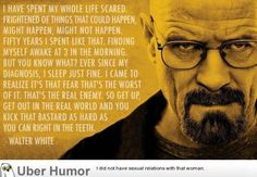 Some motivation from Breaking Bad. - http://geekstumbles.com/funny/uber-humor/some-motivation-from-breaking-bad/