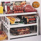 Organize freezer with file trays