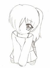 Anime Chibi Girls Line Drawing Collection - - Chibi Girl Drawings, Disney Drawings Sketches, Girly Drawings, Outline Drawings, Art Drawings Sketches Simple, Cartoon Drawings, Easy Drawings, Drawing Ideas, Girl Drawing Easy