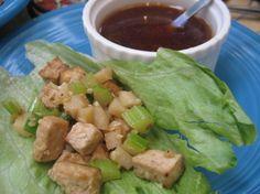 Make Easy, Exotic Vegan Tofu Lettuce Wraps for Chinese New Year | Inhabitots