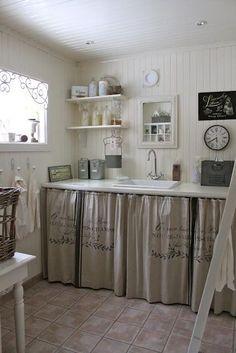 Cortinas armarios cocina