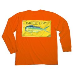 Mahi Flag Harkers Island Long Sleeve T-Shirt #fashion #newarrivals #jarrettbay #jarrettbayclothingco #boating #boatinglife #coastal