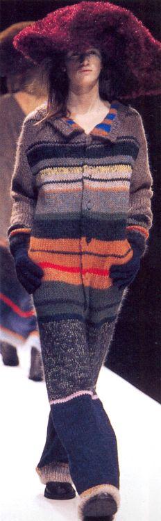 """"""" Yohji Yamamoto Fall/Winter 1998 """""""