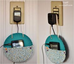 ScrapBi: Suporte para carregar celular - Pratinhos de papel e tecido Cd Crafts, Diy Crafts Hacks, Upcycled Crafts, Diy Home Crafts, Diy Craft Projects, Decor Crafts, Recycled Cds, Bottle Cap Projects, Cd Diy