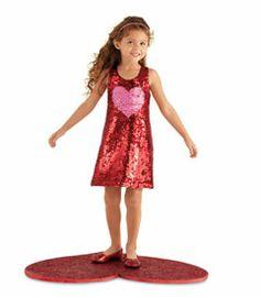 sequin heart dress Chasing Fireflies Spring 2014