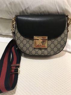 066690f7367 Gucci Medium GG Supreme Saddle Bag This Summer