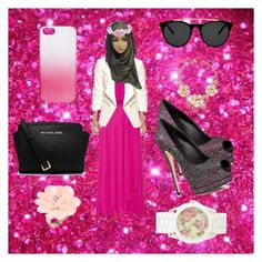 Hijabi style <3 by someonefromsomewhere on Polyvore featuring mode, Haute Hippie, H&M, Giuseppe Zanotti, MICHAEL Michael Kors, Aéropostale, Dettagli, Gemma Simone, J.Crew and Smoke & Mirrors