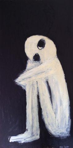 The end - Eleni Tomadaki Painting, Art, Art Background, Painting Art, Kunst, Paintings, Performing Arts, Painted Canvas, Drawings