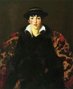 Viv (New York), Robert Henri. American Ashcan School Painter (1865 - 1929)