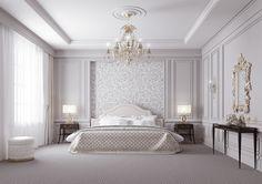 Интерьер спальни - Галерея 3ddd.ru