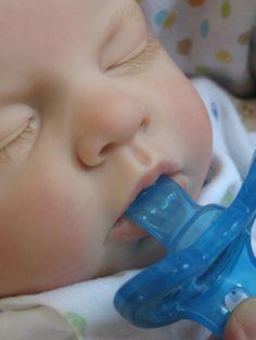OPEN MOUTH Reborn baby boy Takes a full by simplysweetbundles, $395.00