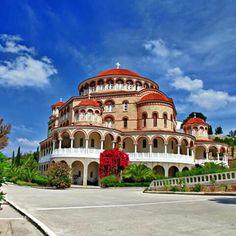 Agios Nektarios Aigina Greece