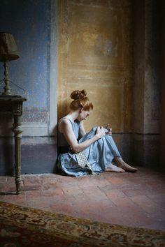 La femminilità raccolta: Monia Merlo
