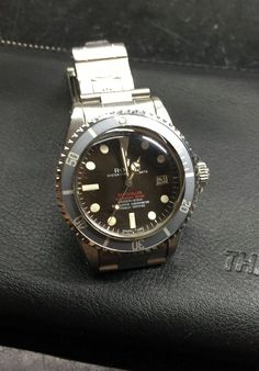 勞力士 (Rolex) [MINT][SUPER RARE] Double Red SEA-DWELLER 1665 Mark II at HK$448,000.