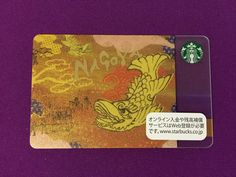 Japan card Starbucks, Japan, Books, Cards, Livros, Okinawa Japan, Livres, Book, Maps
