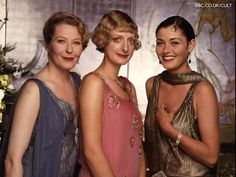 BBC drama, The House of Eliott. Set in a 1920s fashion house. Now available on DVD, yipeee!!