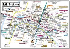 Paris metrosu devasa büyüklüğü ile sizi şaşkına çevirecek
